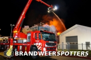 Woningbrand (Middelbrand) Logtenburg in Prinsenbeek (+Video)