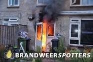 Woningbrand  Terburghtweg in Oisterwijk