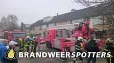 Schoorsteenbrand Amperestraat in Oosterhout nb
