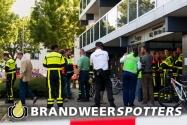 Woningbrand (middelbrand) (flat) Roeselarestraat in Breda (+Video)