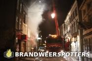 Binnenbrand (Zeer Grote Brand + GRIP 1) Haagdijk in Breda