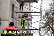 Stormschade bisschop zwijsenstraat in Tilburg