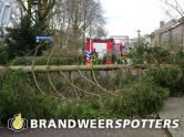 Stormschade hesselmansstraat in Goirle