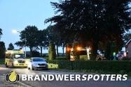 Hulpdiensten ingezet bij medische noodsituatie aan de Heuvelstraat in Moergestel (+Video)