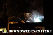 Brand wegvervoer op de A58 bij Moergestel (+Video)