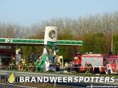 (Video) Letsel  beknelling A17 R  Parkeerplaats Benzinestation in Klundert