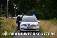 Traumahelikopter ondersteund ambulance onderweg naar ziekenhuis na incident bij AZC in Oisterwijk (+Video)