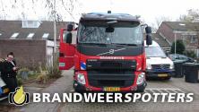 Wateroverlast  Beuningenstraat 3 in Tilburg