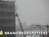 GRIP 2: Grote brand naast nieuw NS station in Breda