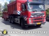 Brand industrie (GRIP 3 + Zeer grote brand) Destra data bv mijkenbroek in Breda