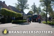Woningbrand  De ploegschaar in Berkel-enschot