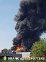 Zeer grote brand (GRIP 1) Mijkenbroek in Breda