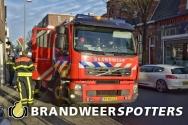 Brandgerucht  Korvelseweg in Tilburg