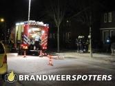 Woningbrand (middelbrand) Burgemeester voetenstraat in Ossendrecht