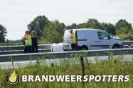 Kettingbotsing met meerdere gewonden op de A58 bij Moergestel (+Video)