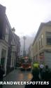 Brand Winkel (grote brand) Molenstraat in Breda